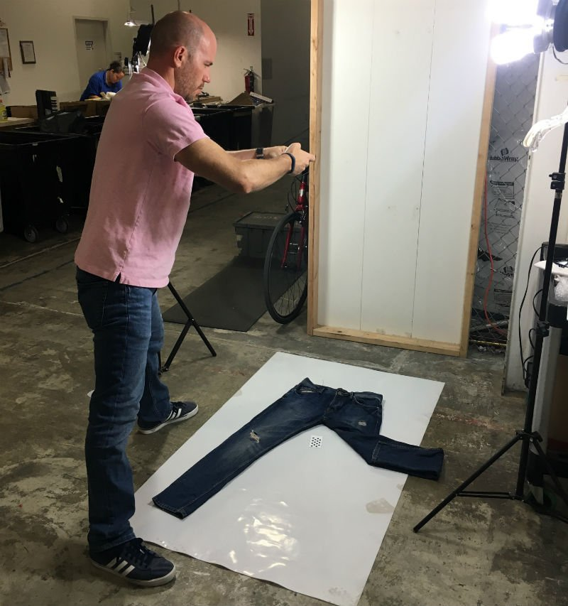 Garment software for measuring apparel