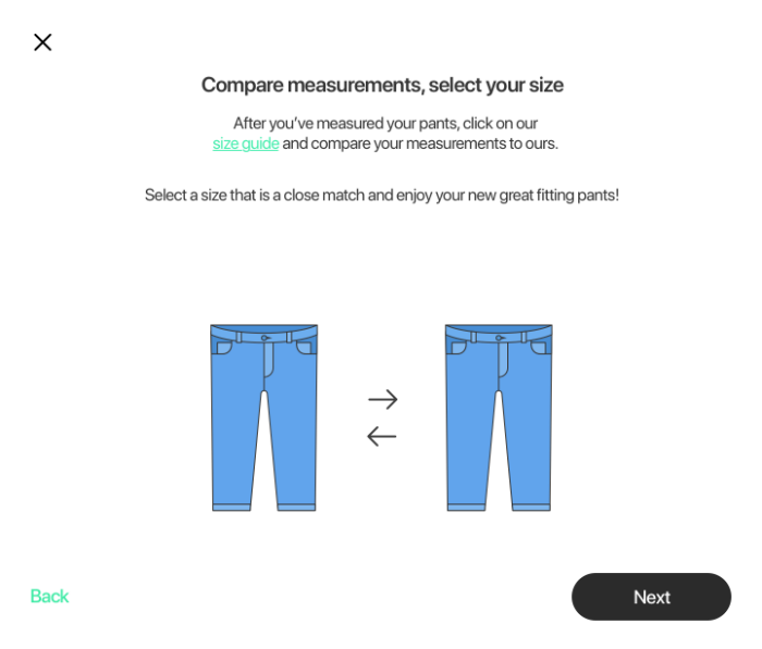 apparel software for finding the best fit
