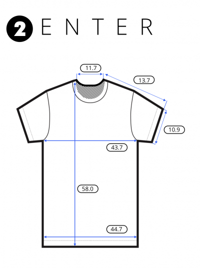 Shirt measurements