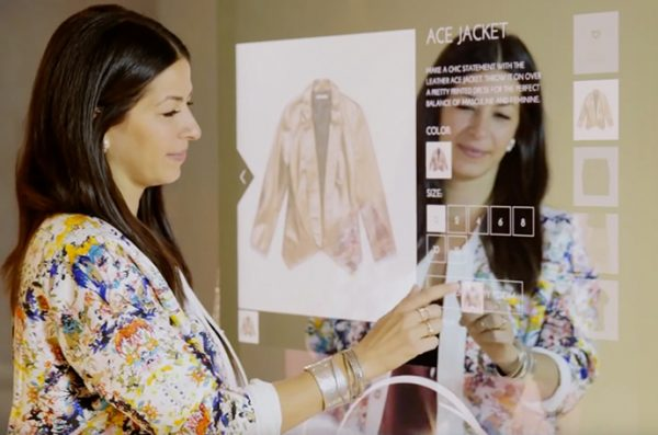 interactive smart mirrors in fashion - artificial intelligence