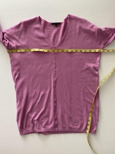 Measure shirt bust for eBay