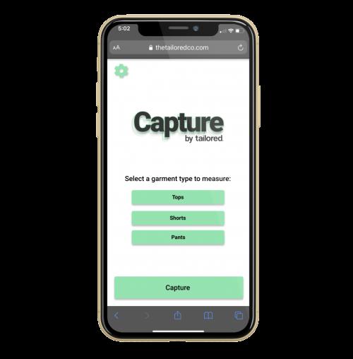 Tailored Capture web app
