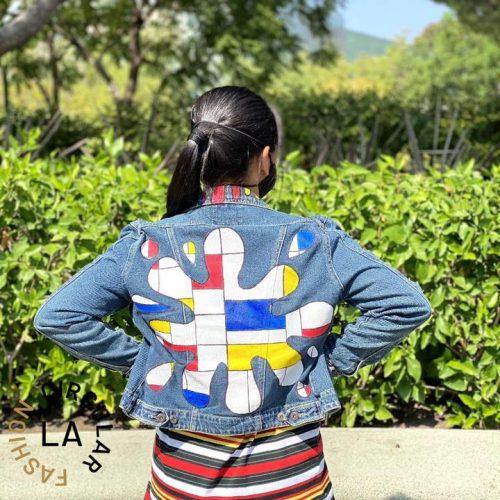 Upcycled Denim Jacket by Circular Fashion Los Angeles