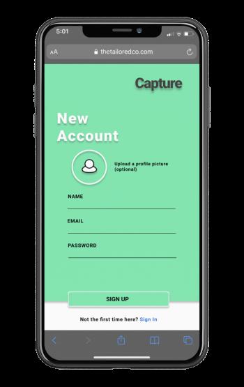New account create