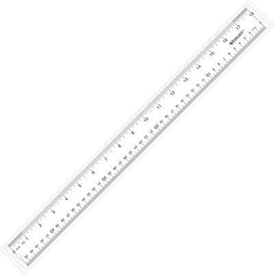 See through fashion ruler